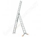 Трехсекционная лестница Strais(3секции по 3м) до 9м